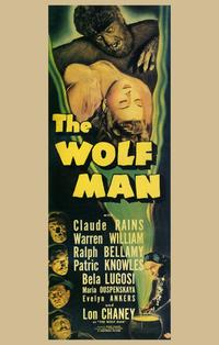 The Wolf Man - 11 x 17 Movie Poster - Style B