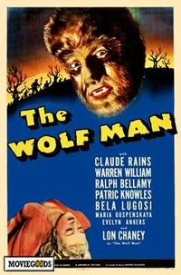 The Wolf Man - 43 x 62 Movie Poster - Bus Shelter Style A