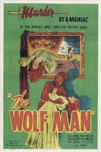 The Wolf Man - 11 x 17 Movie Poster - Style D