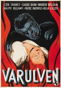 The Wolf Man - 27 x 40 Movie Poster - Swedish Style A