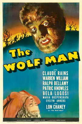 The Wolf Man - 11 x 17 Movie Poster - Style H