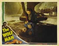 The Wolf Man - 11 x 14 Movie Poster - Style J