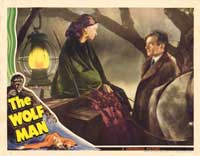 The Wolf Man - 11 x 14 Movie Poster - Style N