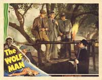 The Wolf Man - 11 x 14 Movie Poster - Style P