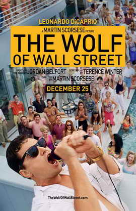The Wolf of Wall Street - 11 x 17 Movie Poster - Style A