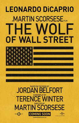 The Wolf of Wall Street - 11 x 17 Movie Poster - Style C