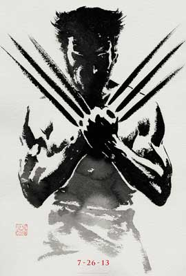 The Wolverine - DS 1 Sheet Movie Poster - Style B