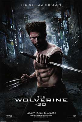 The Wolverine - DS 1 Sheet Movie Poster - Style D