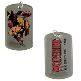 The Wolverine - Crouch Double Sided Dog Tag Necklace