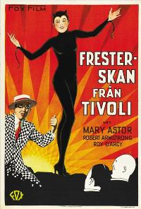 The Woman from Hell - 11 x 17 Movie Poster - Swedish Style A