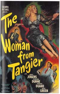 The Woman from Tangier - 11 x 17 Movie Poster - Style A