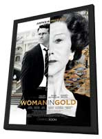 """The Woman in Gold"" Movie Poster"