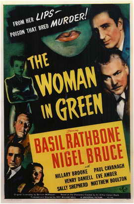 The Woman in Green - 11 x 17 Movie Poster - Style A