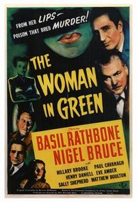 The Woman in Green - 27 x 40 Movie Poster - Style A