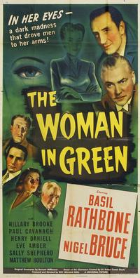 The Woman in Green - 11 x 17 Movie Poster - Style B