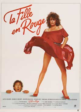 The Woman in Red - 27 x 40 Movie Poster - French Style A