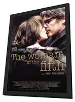 The Woman in the Fifth - 27 x 40 Movie Poster - Style A - in Deluxe Wood Frame