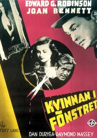 The Woman in the Window - 11 x 17 Movie Poster - Swedish Style B