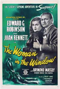 The Woman in the Window - 27 x 40 Movie Poster - Style B
