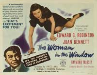 The Woman in the Window - 11 x 14 Movie Poster - Style B