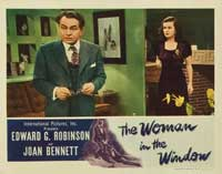 The Woman in the Window - 11 x 14 Movie Poster - Style E