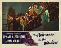 The Woman in the Window - 11 x 14 Movie Poster - Style G