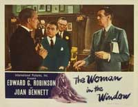 The Woman in the Window - 11 x 14 Movie Poster - Style H