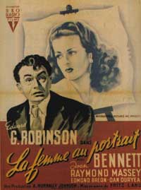 The Woman in the Window - 11 x 17 Movie Poster - French Style A