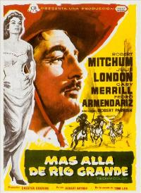 The Wonderful Country - 27 x 40 Movie Poster - Spanish Style A