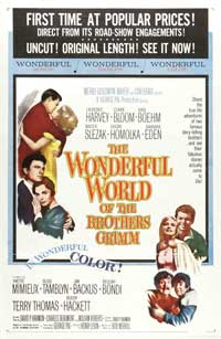 The Wonderful World of the Brothers Grimm - 11 x 17 Movie Poster - Style A