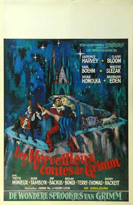 The Wonderful World of the Brothers Grimm - 11 x 17 Movie Poster - Belgian Style A