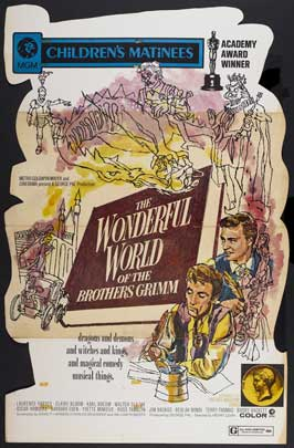 The Wonderful World of the Brothers Grimm - 11 x 17 Movie Poster - Style E