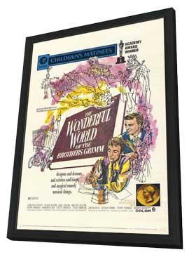 The Wonderful World of the Brothers Grimm - 11 x 17 Movie Poster - Style A - in Deluxe Wood Frame
