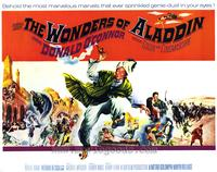 The Wonders of Aladdin - 22 x 28 Movie Poster - Half Sheet Style A