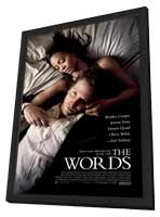 The Words - 27 x 40 Movie Poster - Style B - in Deluxe Wood Frame