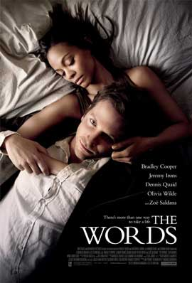 The Words - 43 x 62 Movie Poster - Bus Shelter Style A