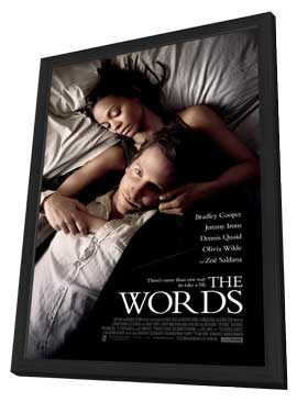 The Words - 11 x 17 Movie Poster - Style B - in Deluxe Wood Frame