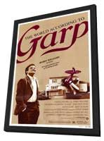 The World According to Garp - 11 x 17 Movie Poster - Style A - in Deluxe Wood Frame