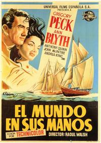 The World in His Arms - 11 x 17 Movie Poster - Spanish Style A