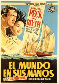 The World in His Arms - 27 x 40 Movie Poster - Spanish Style A