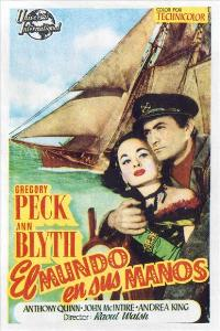 The World in His Arms - 11 x 17 Movie Poster - Spanish Style C