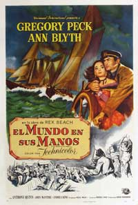 The World in His Arms - 11 x 17 Movie Poster - Spanish Style D