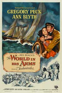 The World in His Arms - 27 x 40 Movie Poster - Style C