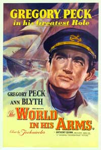 The World in His Arms - 27 x 40 Movie Poster - UK Style A