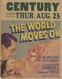 The World Moves On - 11 x 17 Movie Poster - Style A