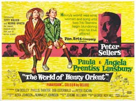 The World of Henry Orient - 11 x 17 Movie Poster - UK Style A