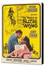 The World of Suzie Wong - 27 x 40 Movie Poster - Style A - Museum Wrapped Canvas