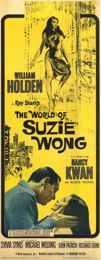The World of Suzie Wong - 14 x 36 Movie Poster - Insert Style A