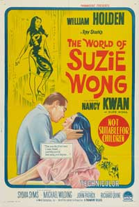 The World of Suzie Wong - 11 x 17 Movie Poster - Australian Style A