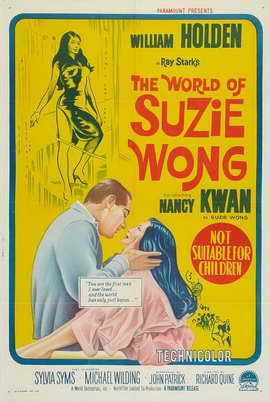 The World of Suzie Wong - 27 x 40 Movie Poster - Australian Style A